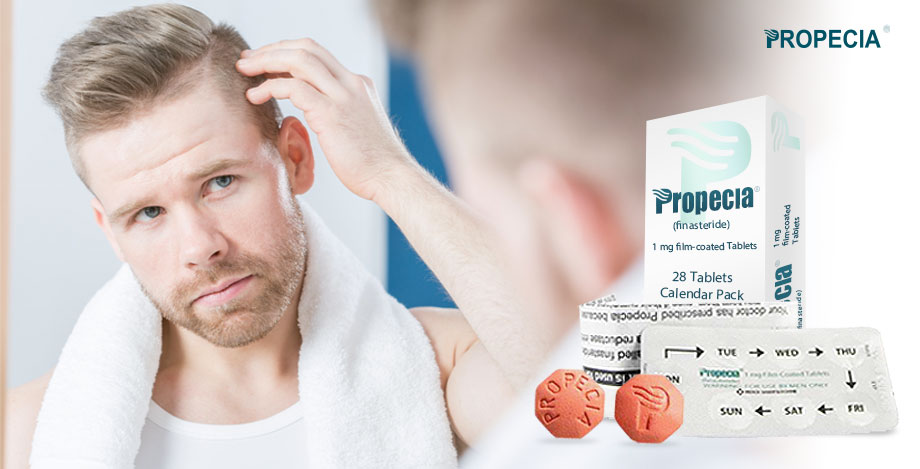 Propecia Generic Finasteride 1mg -  hairloss treatment